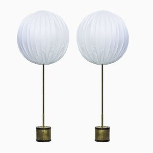 G123/600 Floor Lamps by Hans Agne Jakobsson, 1960s, Set of 2