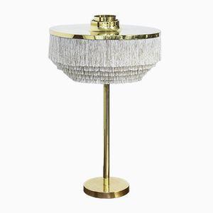 Lámpara de mesa sueca con flecos de Hans-Agne Jakobsson, años 60