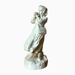 Sculpture en Plâtre par Erik Arvid Backlund, Suède, 1917