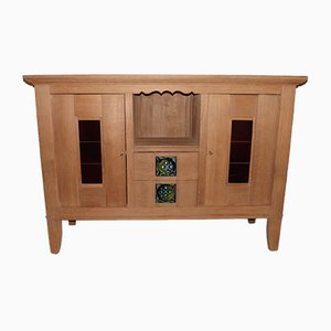Oak Buffet by Charles Dudouyt, 1930s
