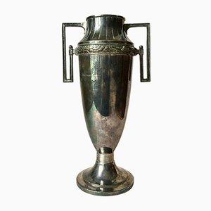 Antike schwedische Vase aus Zinn