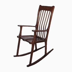 Large Postmodern Rocking Chair, 1970s