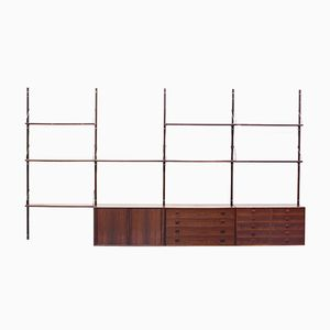 Rosewood Shelf System by Rud Thygesen & Johnny Sørensen for Hansen & Guldborg, 1960s