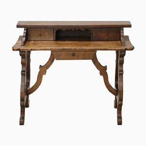 Antiker Schreibtisch aus Nussholz, 1880er