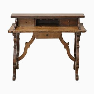 Antique Walnut Writing Desk, 1880s