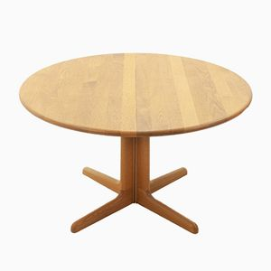 Table de Salle à Manger à Rallonge en Chêne par N.O. Moller pour Gudme, 1970s