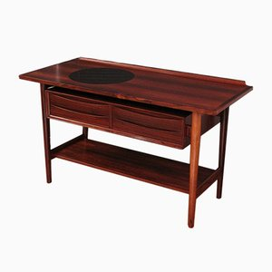 Vintage Brazilian Rosewood Console Table by Arne Vodder for Sibast
