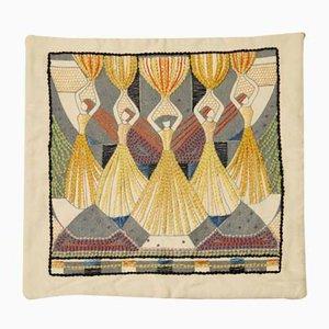 Funda de almohada de Ilse Claesson, años 30