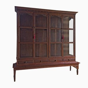 French Haberdashery Shop Display Cabinet, 1920s
