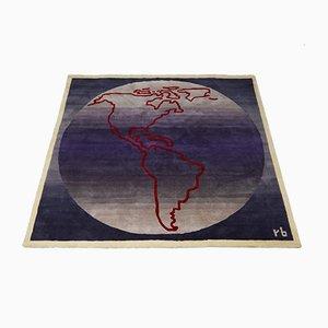 Wandteppich/Teppich von Rolf Brenner, 1990er