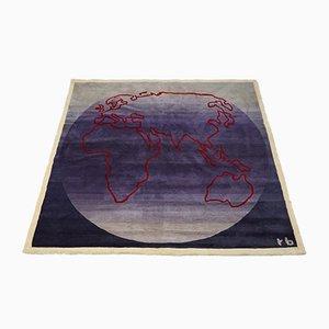 Alfombra/tapiz de Rolf Brenner, años 90