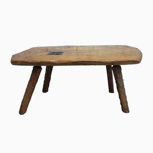 Tavolino o tavolino Mid-Century in quercia