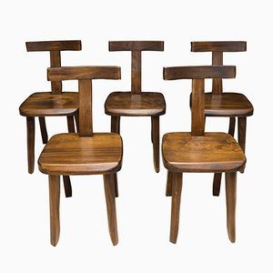 Vintage Chairs by Olavi Hänninen for Mikko Nupponen, Set of 5