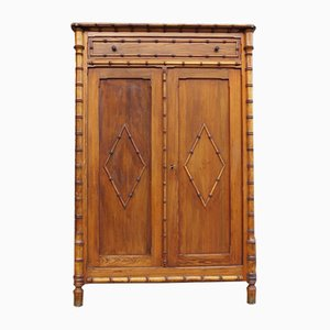 Antique Faux Bamboo Cupboard