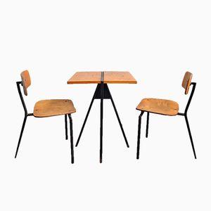Juego de mesa y sillas de bistró