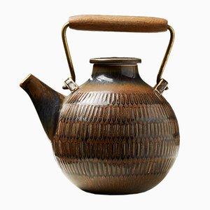 Teapot by Stig Lindberg, 1950s