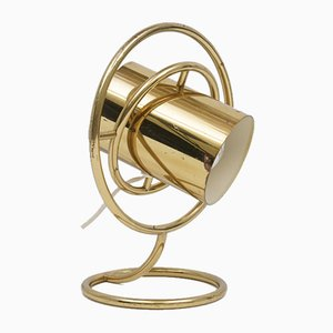 Modernist Brass Table Lamp, 1980s