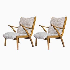 Vintage Molliperma Lounge Chairs from Möbelfabrik BSA, 1970s, Set of 2