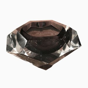 Vintage Murano Glass Ashtray by Falvio Poli