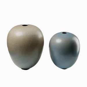 Vases by Tove Anderberg, 1980s, Set of 2