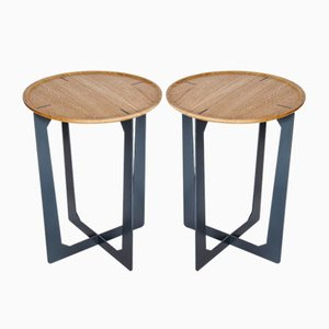 Ta-So Side Table by Augustin Marzloff for La-Ma-Dé, Set of 2