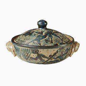 Mid-Century Lidded Bowl by Niels Refsgaard