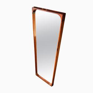 Mid-Century Rosewood Mirror by Arne Vodder