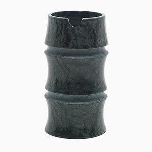 Grüne Kadomatsu Tokkuri Kanne aus Guatemala Marmor von Michele Chiossi für MMairo