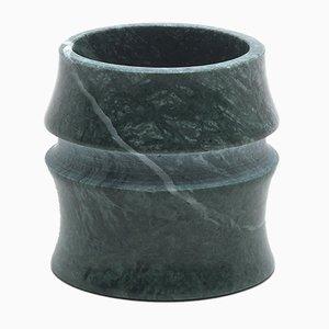 Bicchiere piccolo Kadomatsu in marmo verde Guatemala di Michele Chiossi per MMairo
