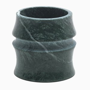Kadomatsu Small Cup in Guatemala Verde Marble by Michele Chiossi for MMairo