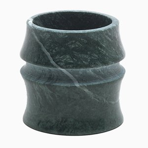Kadomatsu Small Cup in Guatemala Green Marble by Michele Chiossi for MMairo
