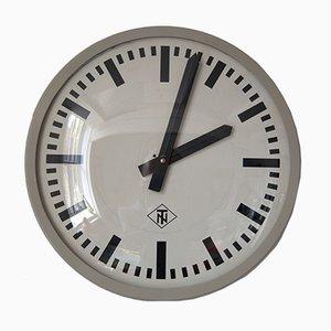 Deutsche Mid-Century Uhr von Telefonbau & Standardzeit (TN), 1950er