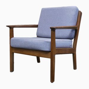 Mid-Century Model GE-265 Easy Chair by Hans J. Wegner for Getama