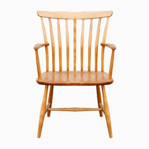 Swedish Bentwood Armchair by Bengt Akerblom for Akerblom, 1950s