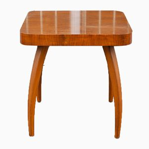 Art Deco Walnut Side Table by Jindrich Halabala for UP Závody, 1930s