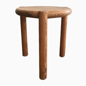 Pitch Pine Stool, 1950s