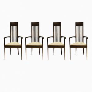 Chaises Mid-Century Scandinaves, Set de 4
