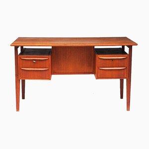 Dänischer Vintage Schreibtisch aus Teak von Gunnar Nielsen Tiebergaard