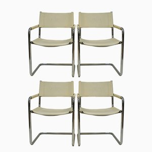 Vintage Armchairs by Linea Veam for Cantilever, Set of 4