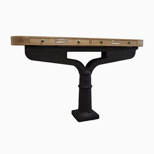 Antique Industrial Console from Millier
