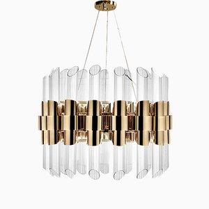 Lámpara de suspensión Tycho redonda de Covet Paris