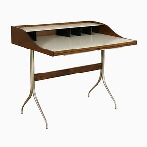 Vintage Writing Desk in Sessile Oak by George Nelson for Herman Miller