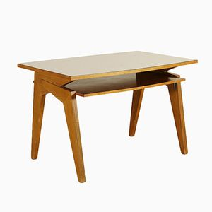 Italian Writing Desk in Sessile Oak, 1960s