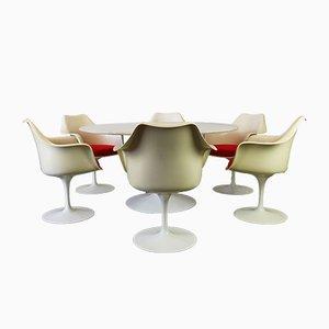 Set da tavola Tulip di Eero Saarinen per Knoll, anni '60