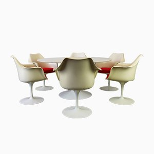 Tulip Dining Set by Eero Saarinen for Knoll, 1960s