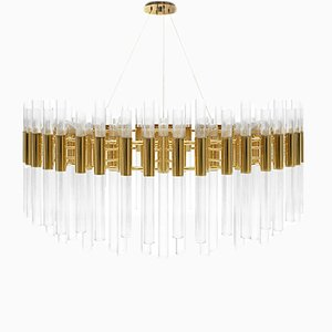 Round Waterfall Suspension from Covet Paris