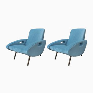 Lounge Chairs by François Letourneur, 1950s, Set of 2
