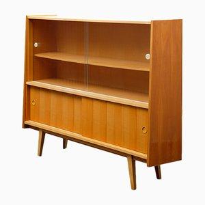 Mueble de madera de cerezo, años 50
