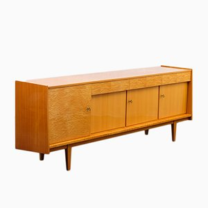 Cherry & Maple Sideboard, 1950s