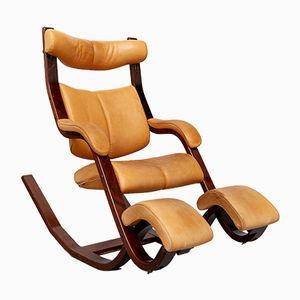 Vintage Balans Rocking Chair by Peter Opsvik for Stokke
